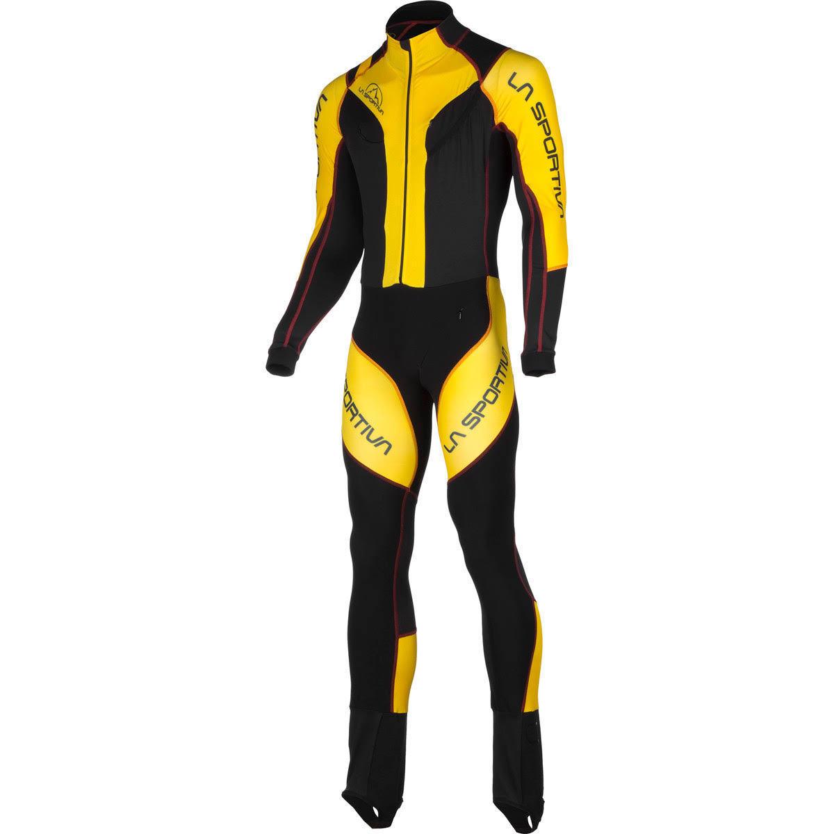 La Sportiva Syborg Racing Suit (S) Giallo Grigio