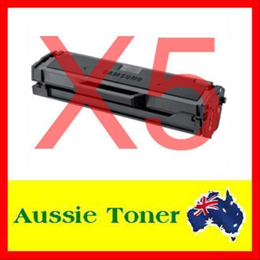 5x Toner Cartridge for Samsung MLTD101S MLT-D101S SCX3405 SCX-3405 SCX3405F