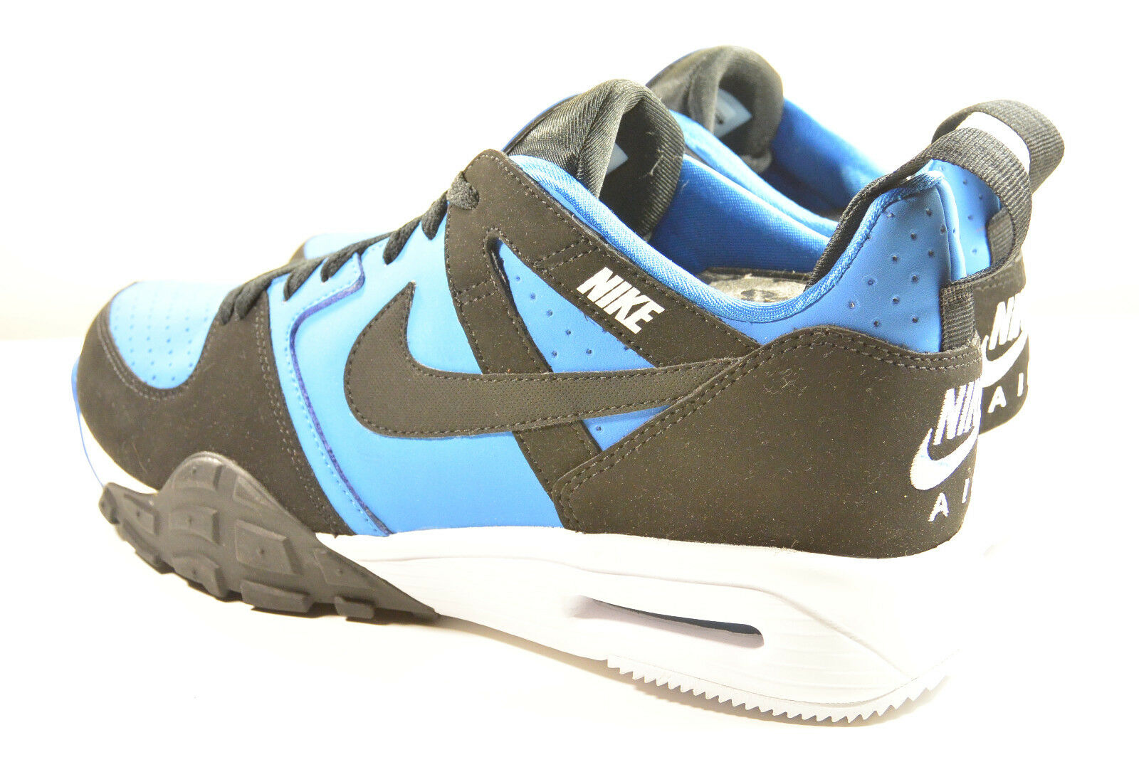 5e3463c3aa98 DS DS DS NIKE 2013 AIR TRAINER 91 LITE UNRELEASED SAMPLE BLUE 9 NFL SUPER  BOWL SC 1 513305