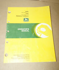 1996 John Deere Model 609 Amp 709 Rotary Cutter Operators Manual Pn Omw44172 E6