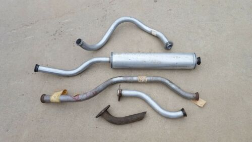 Jeep M151 M151A1 Exhaust Pipe Complete Muffler Tailpipe w// hardware MUTT N.O.S.