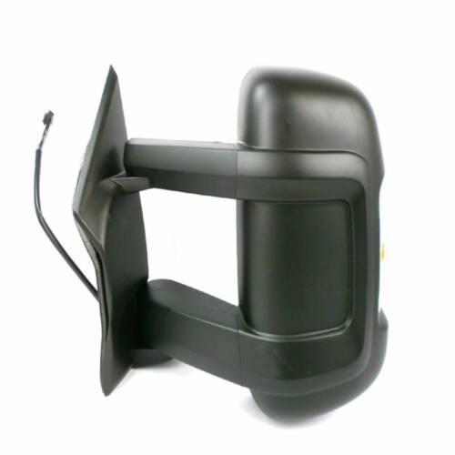 PEUGEOT BOXER chauffant électrique Aile Gauche Miroir Bras long avec antenne 2014-18 RHD