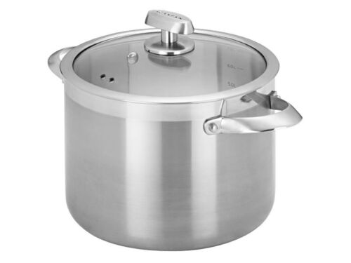 NEW Scanpan Clad 5 Stockpot 24cm7.6L