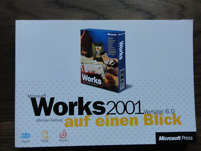 EntrüCkung Microsoft Works 2001 Version 6.0 Handbuch