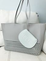 Bath & Body Works Mothers Day 2017 Bag Tote Only $45 Value Gray With Mint Case