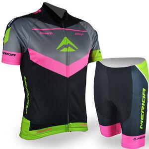 Merida Reflective Cycle Jersey And Shorts Women S Bike Cycling