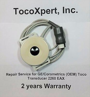 Corometrics Nautilus 5700LAX Ultrasound Transducer $84 Repair 2 Year Warranty!