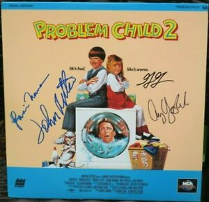 The-034-Problem-Child-2-034-LD-signed-by-J-Ritter-A-Yasbeck-L-Newman-amp-G-Gotfried