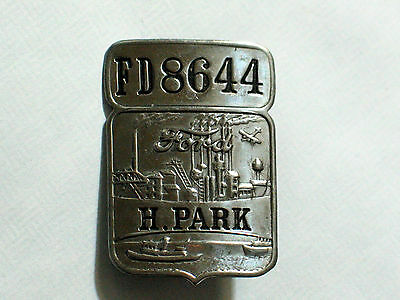 #fd8644 Creative Ford Highland Park Employee Anstecker Vintage Orig