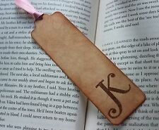 PERSONALISED BOOKMARK-Vintage Style-Gift-Stocking Filler-Teacher-Handmade