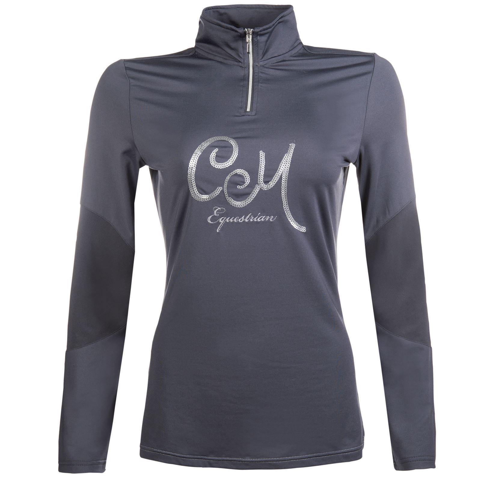 Cavallino Marino Piemont Sequin Tailored Long Sleeves Horse Riding Fashion Shirt