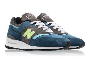 new balance 997 homme bleu