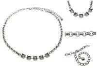 Premium European Empty Cup Chain 5 Box Necklaces 8.5mm 39ss 3pcs - Choose Finish