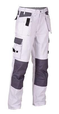Texxor Bundhose Multifunktion Cordura Arbeitshose 4314 - weiß/grau - NEU