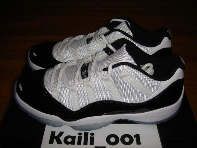 Nike Air Jordan 11 Retro Low Concord 528895-153 Bred A