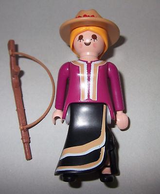 Playmobil Cowgirl Bandit Western Far West Figure 9333 70026