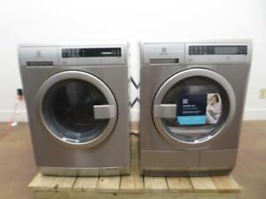 """Electrolux EFLS210TIS 24"""" Front Load Steam Washer & Electric dryer EFDE210TIS IM"""