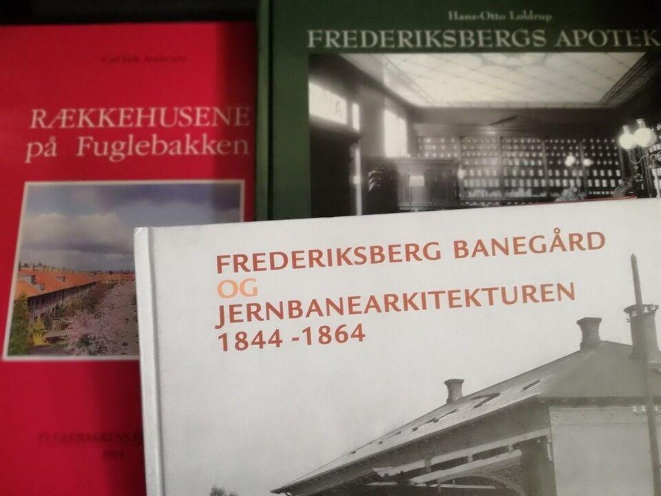 Frederiksberg bøger, f, emne: historie og samfund