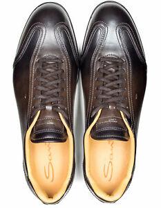 Santoni Sneaker En Brun Foncé Dégradé RegEUR420