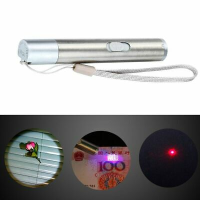 Hot 3in1 Mini Multifunction USB Rechargeable LED UV Torch Pen Flashlight