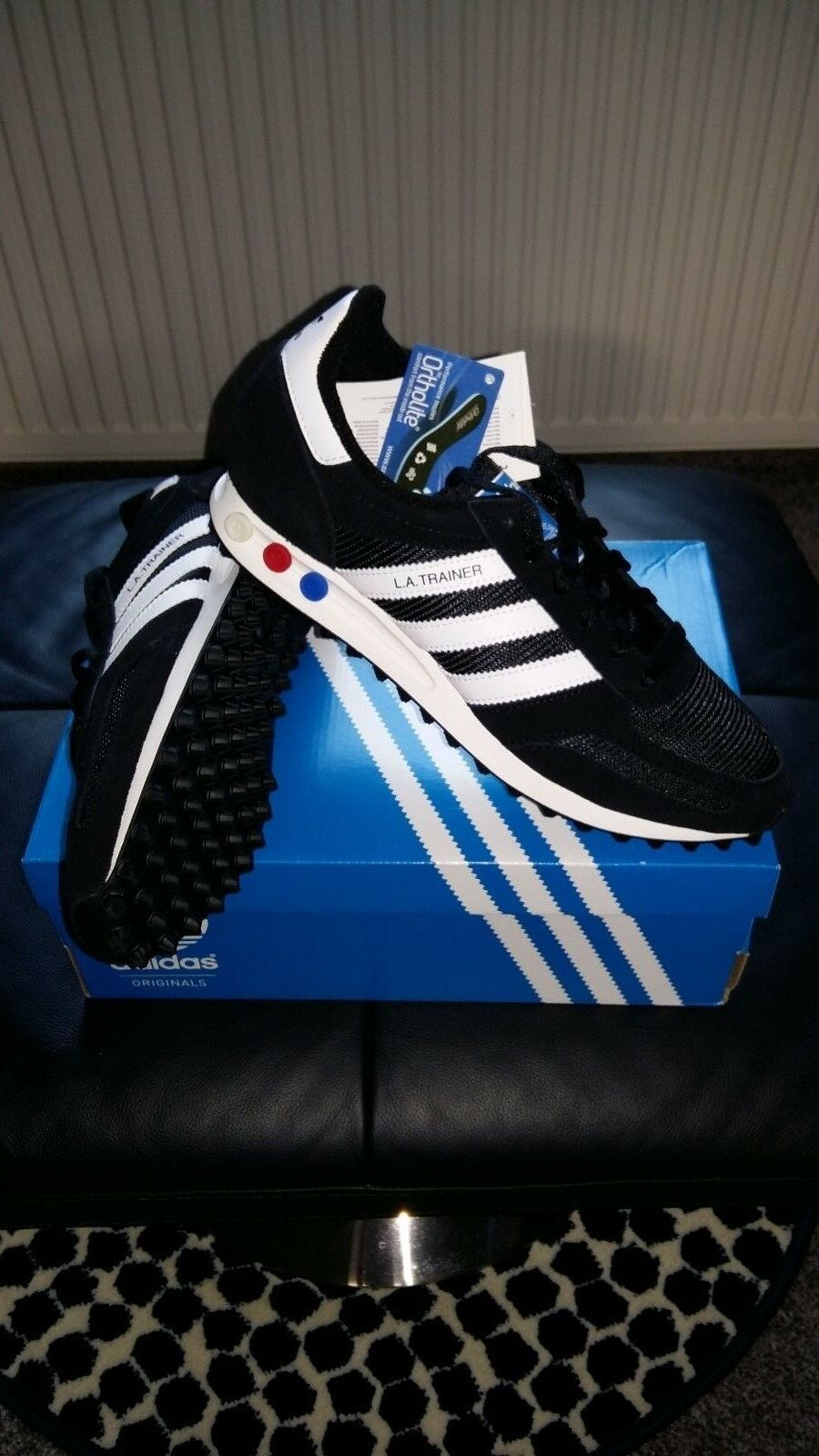 Adidas EQT SUPPORT Used 93/17 Noir & blanc UK8.5 Used SUPPORT Condition 9/10 e7c483