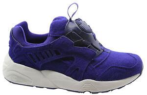 Détails sur Puma trinomic Disc Blaze Violet Feutre Baskets Homme Slip On Shoes 359361 03 D54 afficher le titre d'origine