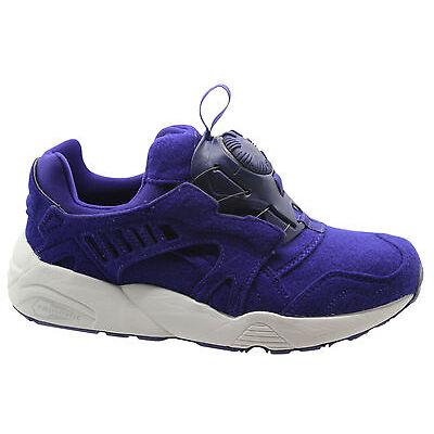 Puma Trinomic Disc Blaze Purple Felt Mens Trainers Slip On Shoes 359361 03 P2