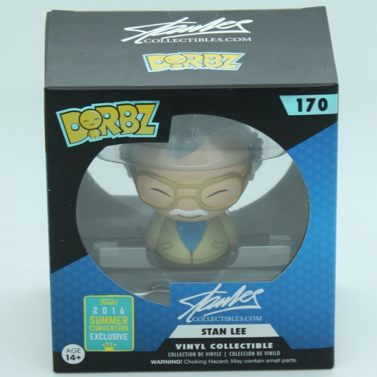 Diverdeimentoko Dorbz 170 Stan Lee Collectibles 9482 Stan Lee  SDCC2016  profitto zero