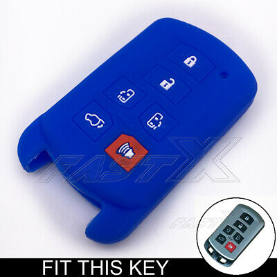 New Keyless 5 Buttons Smart Key Fob Shell For Toyota Sienna Only Key Shell