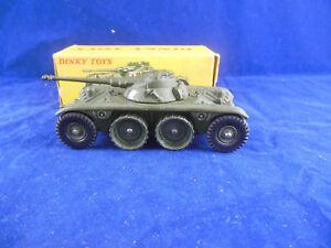 Dinky Toys 815 E. Voiture blindée B. R. Panhard fabriquée en France