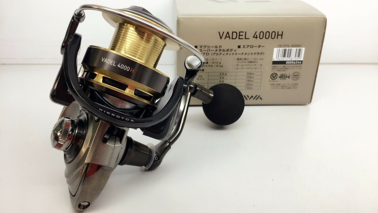 DAIWA VADEL 4000H MAG SEALED Spinning Reel MAGSEALED Fedex Priority 2day to USA
