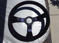 Momo Martini Racing Suede Steering Wheel Porsche