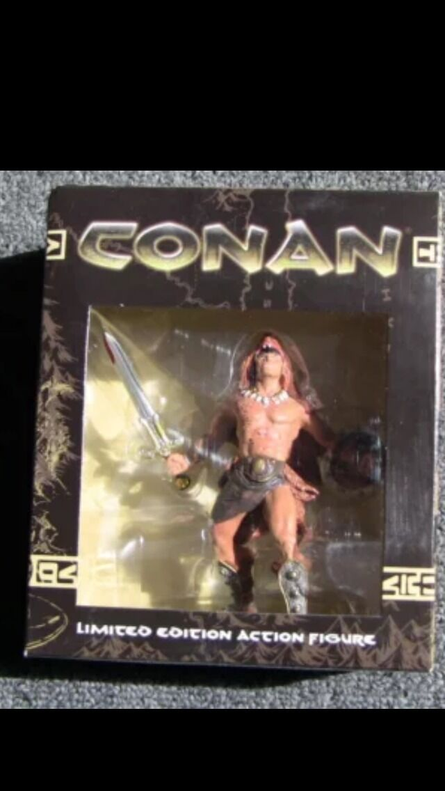 Conan Limited Edition Wolf Action Figure THQ Promo NEW Dark Horse Comics.HTF