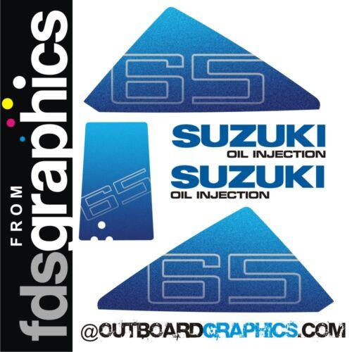 Suzuki DT65hp outboard engine decals//sticker kit
