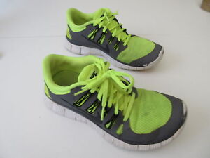 d4cdcc331a0f Men s NIKE  Free 5.0  Sz 7.5 US Runners Grey Green VGCon