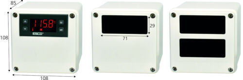 Aufputzdose Hermetisches Gehäuse für Temperaturregler ES IP65 Industrie Aufputz