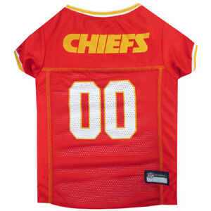 Kansas-City-Chiefs-NFL-Officially-Licensed-Pets-First-Dog-Pet-Jersey-XS-2XL-NWT