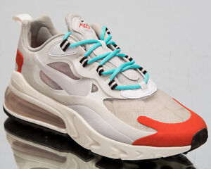 Details about Nike Air Max 270 React Mediados Siglo Mujer Beige Informal  Lifestyle Zapatillas