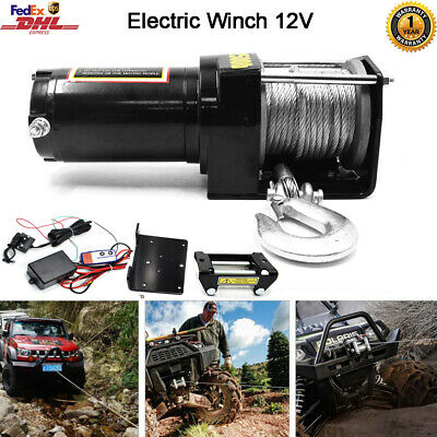 Mountain Cruiser 3500LB WINCH ATV 3500 LB//1591kg Wireless Remote Controller NEW