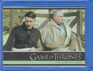 2016 Rittenhouse Game of Thrones Season 5  Card #2 The Wars to Come