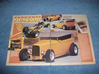 "1932 Ford Highboy 2 Türen Phaeton Vintage Street Rod Artikel "" Colonel Mustard """