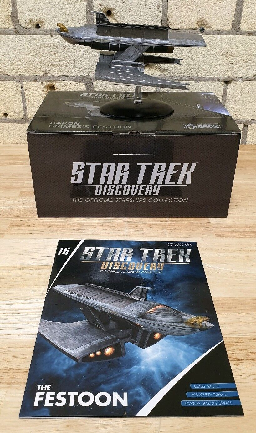 Eaglemoss Star Trek Discovery - Issue 16 - The Festoon Yacht (IN STOCK)