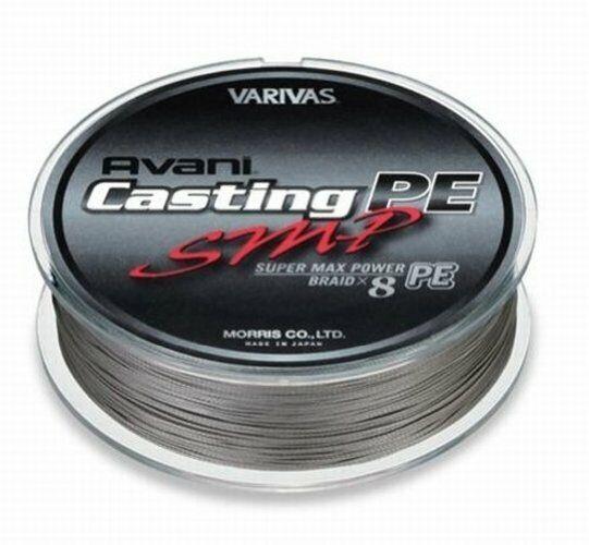 Morris VARIVAS AVANI Casting PE line SMP Super Max energia  3 Max 50lb 600m 8
