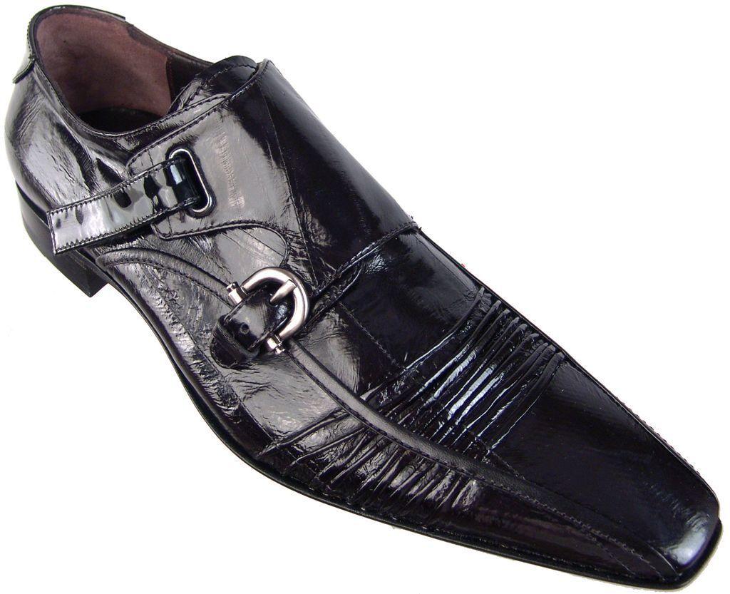 CESARE PACIOTTI nuevo Anguila Monje Correa Mocasines de EE. UU. 9 Diseñador Italiano Zapatos para hombre
