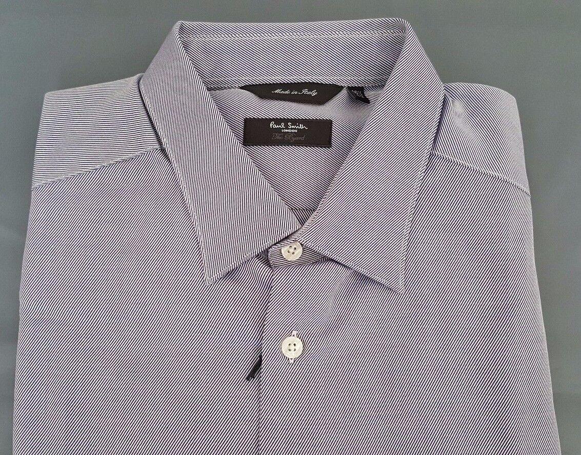 4ad710592f1e5 Smith Shirt Size 16.5 Extra Large bluee Stripes The Bryard Paul ...