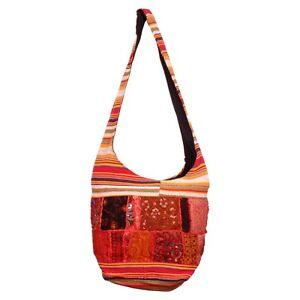 Indian-Women-s-Handmade-Rugs-Cotton-Fabric-Shoulder-bag-Trendy-Handbag-BG-7C