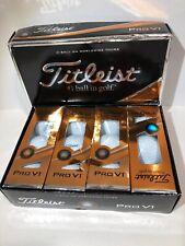 1 Dozen 12 Balls White Titleist Pro V1 Golf Balls
