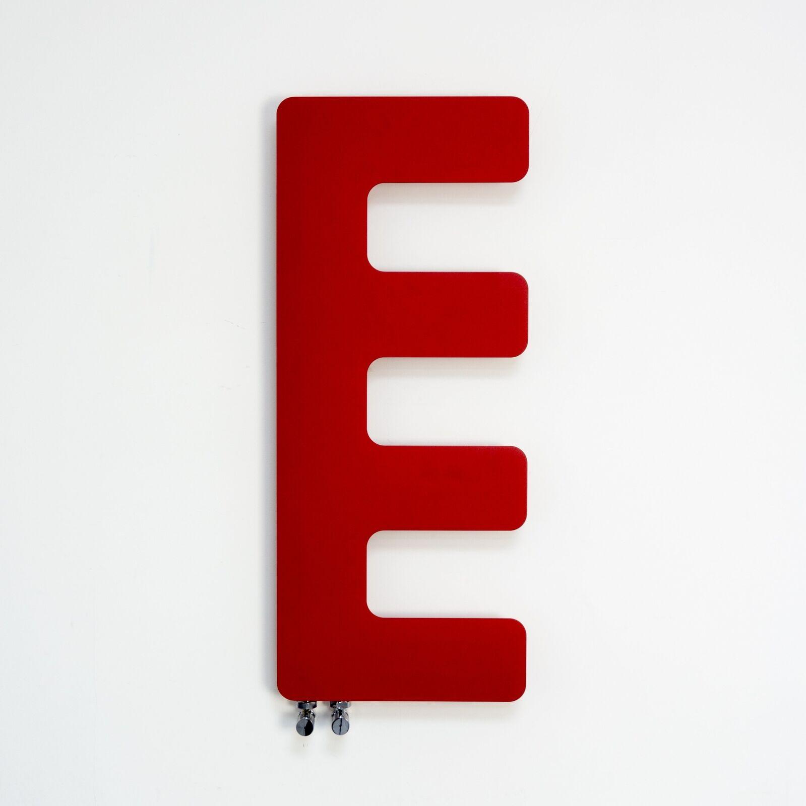 rouge sèche-serviettes Designer Radiateur E-TYPE 400 Large 1000 mm haute salle de bain