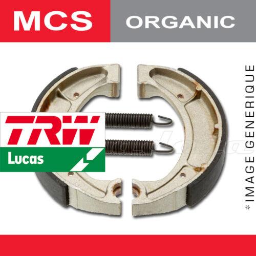 Mâchoires de frein Arrière TRW Lucas MCS 853 pour Kawasaki Z 550 F 83-84