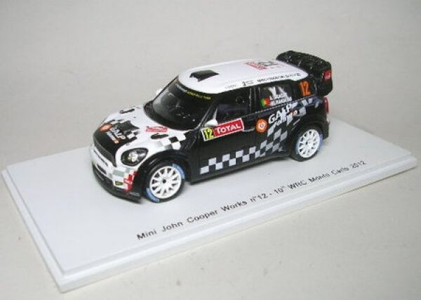 Mini John Cooper works wrc No. 12 12 12 rally monte carlo 2012 66ba0d